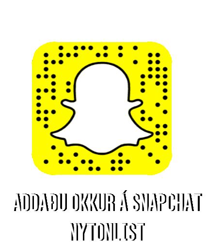 Ný Tónlist á Snapchat